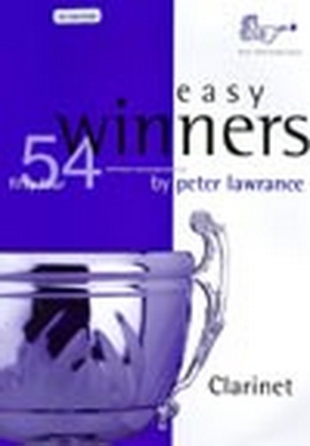 Easy Winners: Clarinet: Book & CD  (lawrance)