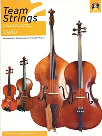 Team Strings Cello 2: Book & CD