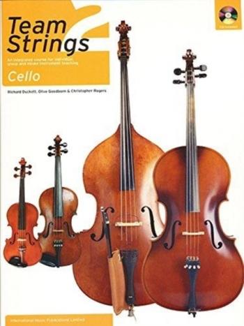 Team Strings: Book 2: Cello: Book & CD  (Faber)