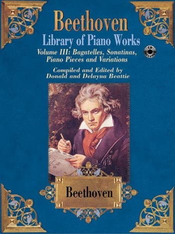 Library Of Piano Works Vol.3 Book & CD