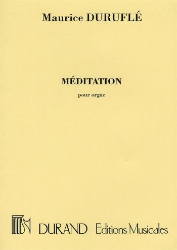 Meditation: Organ  (Durand)