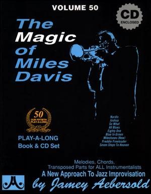 Aebersold Vol.50: Magic Of Miles Davis: All Instruments: Book & CD