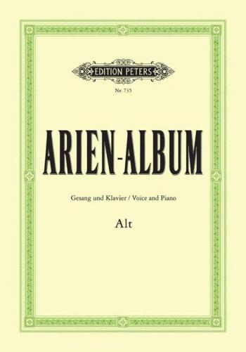 Aria Album for Contralto: 55 Arias for Soprano