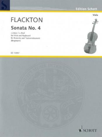 Sonata C Minor Op2 No8: Viola and Piano