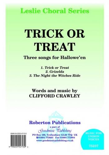 Trick Or Treat: Vocal: Unison