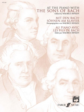 At The Piano With The Sons Of Bach: Piano (Faber)