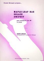 Maple Leaf Solace & Swipsey: Alto Sax & Piano (Lemoine)