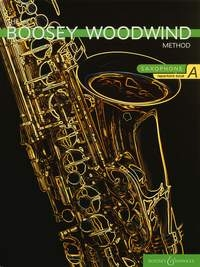 Boosey Woodwind Method: Alto Saxophone Repertoire Book A