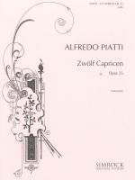 12 Caprices: Op25: Cello (Elite)
