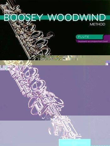 Boosey Woodwind Method: Flute Piano Accompaniment Only: Book 1 & 2