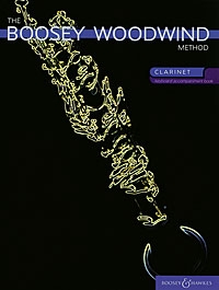 Boosey Woodwind Method: Clarinet Piano Accompaniment Only: Book 1 & 2