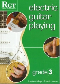 Registry Of Guitar Tutors: Electric Guitar Playing: Grade 3: Handbook