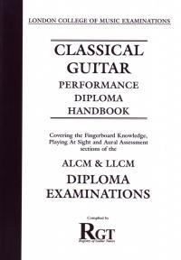 Registry Of Guitar Tutors: Classical Guitar Playing: Diploma: Handbook