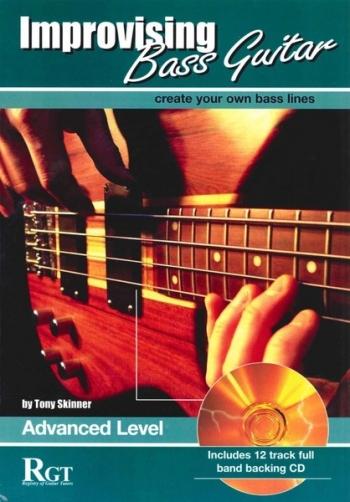 Improvising Bass Guitar: 3  Advanced: Book & CD