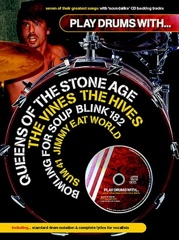 Play Drums With The Queens Stone Age: Bk&cd
