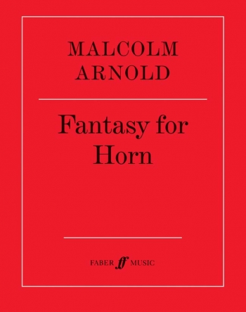Fantasy For Horn Op.88: French Horn (Faber)