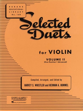 Selected Duets: Vol 2: Advanced Ist Position: Violin