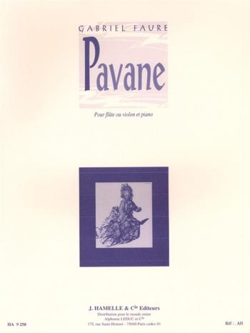 Pavane: Op50: Flute Or Violin & Piano (Leduc)