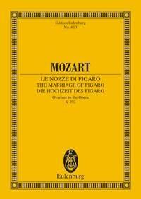 Marriage Of Figaro: Overture: Kv49: Miniature Score