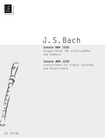 Sonata: Treble Recorder and Piano