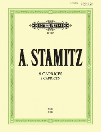 8 Caprices: Flute  (Peters)
