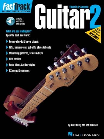 Fast Track: Guitar: Book 2 Book & Cd