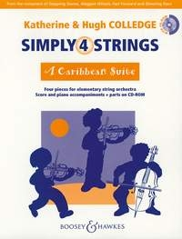 Simply 4 Strings: A Caribbean Suite: Score & Pts CD Containing Printable String Parts(Coll