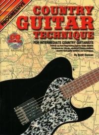 Progressive Country Guitar Technique Book & CD