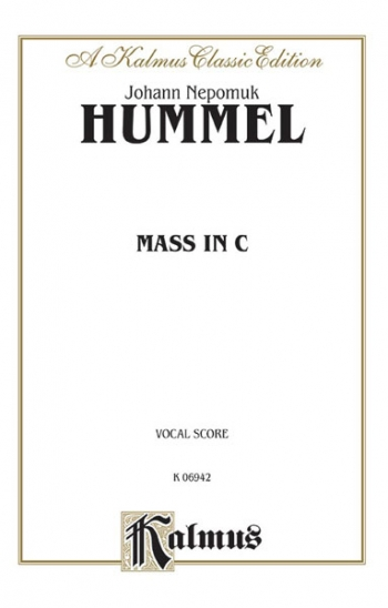 Mass In C: Vocal Score
