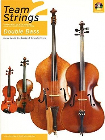 Team Strings Double Bass 2 Book & Cd