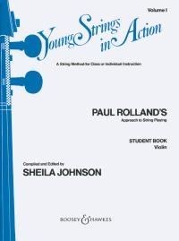 Young Strings In Action Vol.1: Violin (roland)