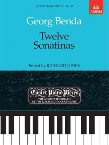12 Sonatinas: Epp47 (Easier Piano Pieces) (ABRSM)