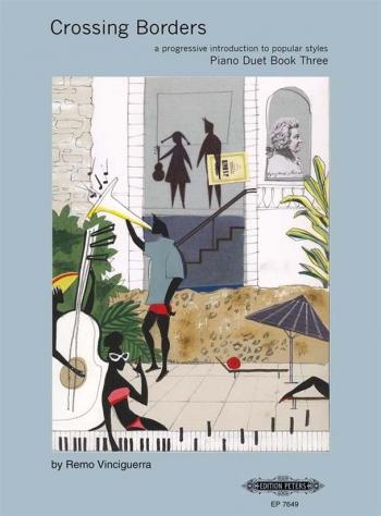 Crossing Borders Book 3: Piano Duet