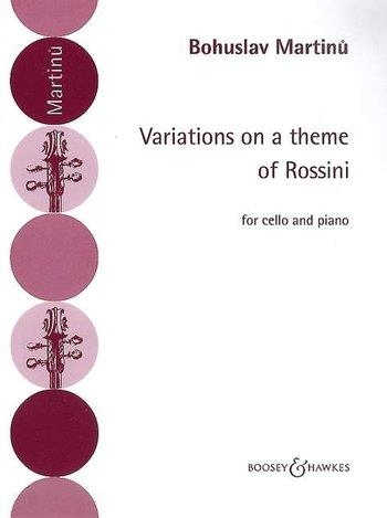 Variations On Theme Of Rossini: Cello & Piano  (Boosey & Hawkes)