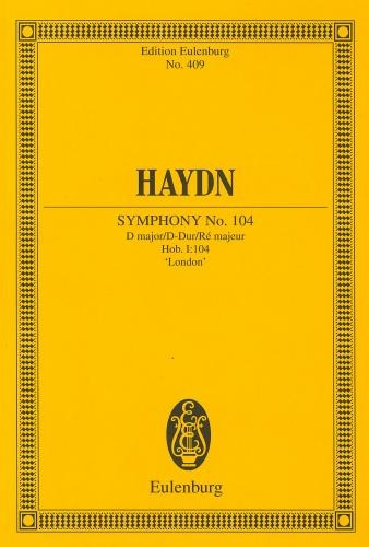 Symphony No.104 : D Major: London: Miniature Score