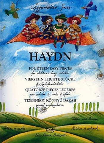 Haydn: 14 Easy Pieces: String Orchestra: Score and Parts