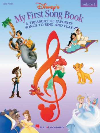 Disneys: My First Song Book: Easy Piano