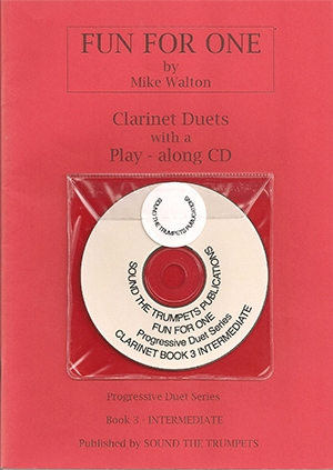 Fun For One: 3: Clarinets: Book & CD