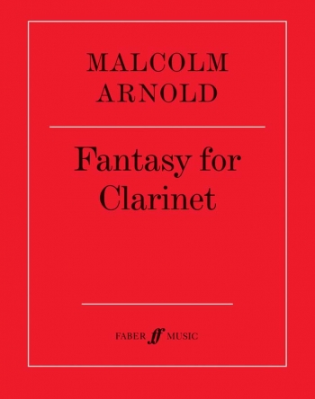 Fantasy For Clarinet Solo (Faber)