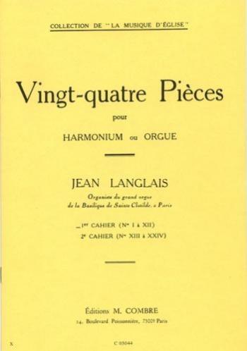 24 Pieces Op.6 Vol 1: Organ  (Combre)