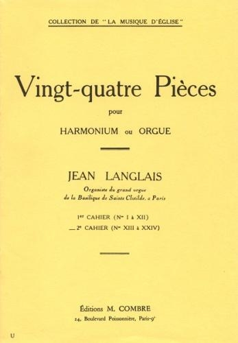 24 Pieces Op.6 Vol 2: Organ (Lemoine)