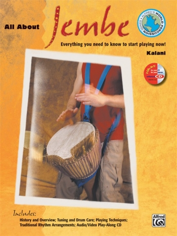 All About Djembe: Book And Cd