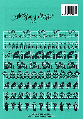 Beatles: When Im 64: Vocal SATB