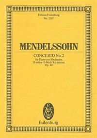 Piano Concerto: D Minor: No:20: Miniature Score