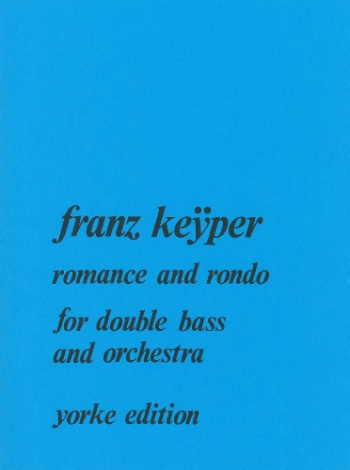 Romance And Rondo: Double Bass (Yorke)
