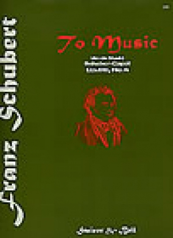 To Music (An Die Musik): Bbmaj: Vocal: Solo Song