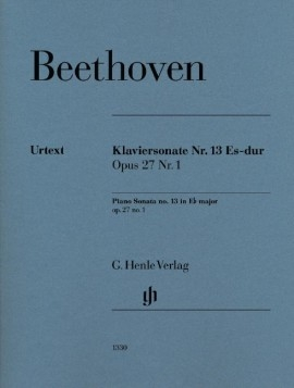 Piano Sonata Eb Major Op27/1: Piano (Henle)