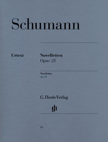 Novellettes Op.21: Piano  (Henle Ed)