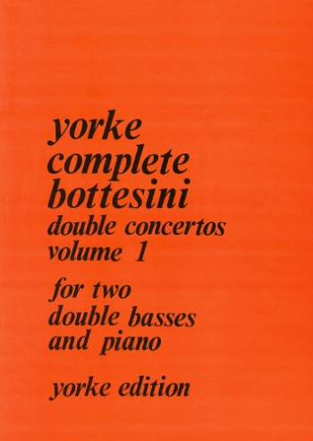 Double Concertos: Vol.1: Double Bass (Yorke)