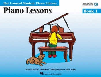 Hal Leonard Student Piano Library: Book 1: Piano Lessons: Book & Online Audio
